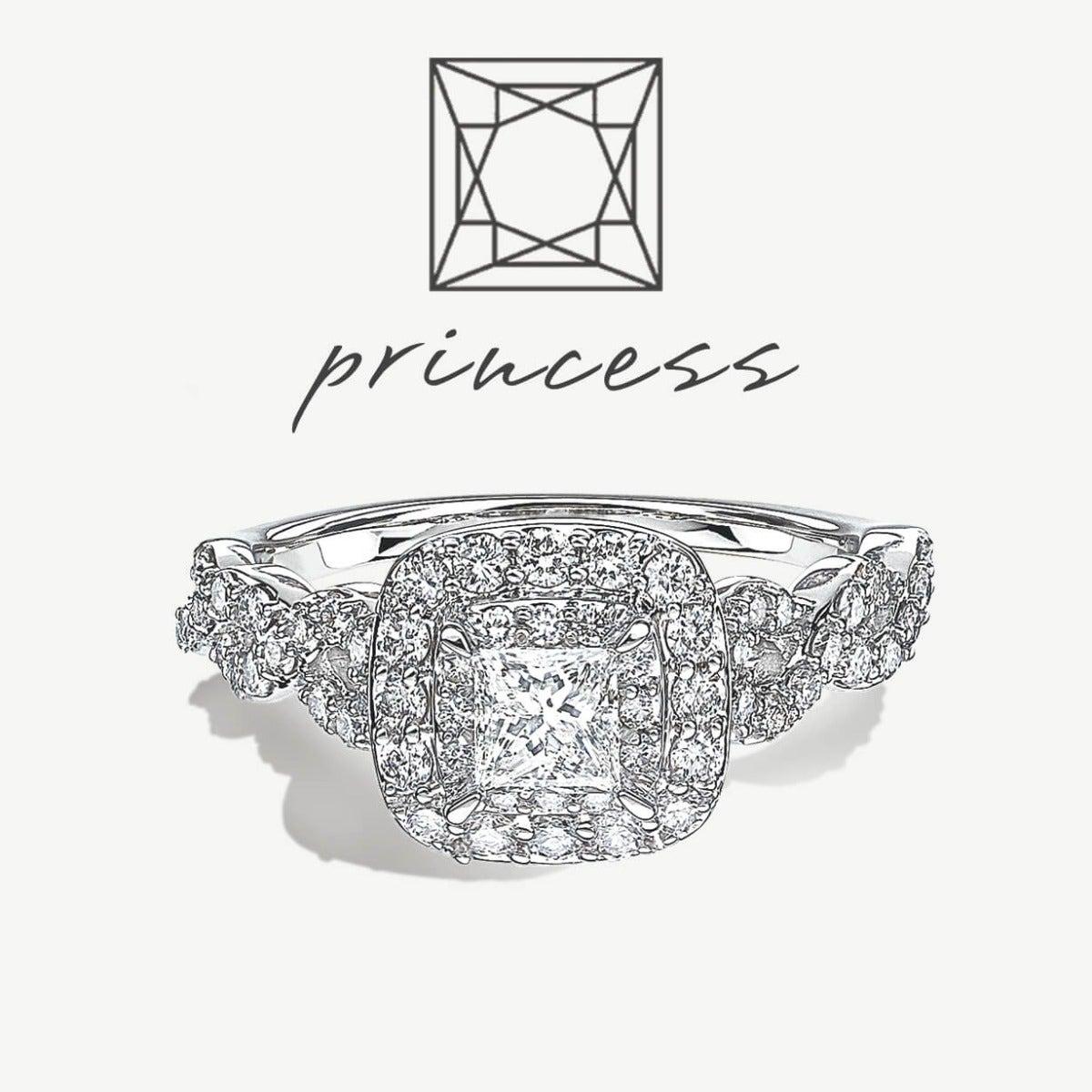 Princess-Cut Engagement Styles