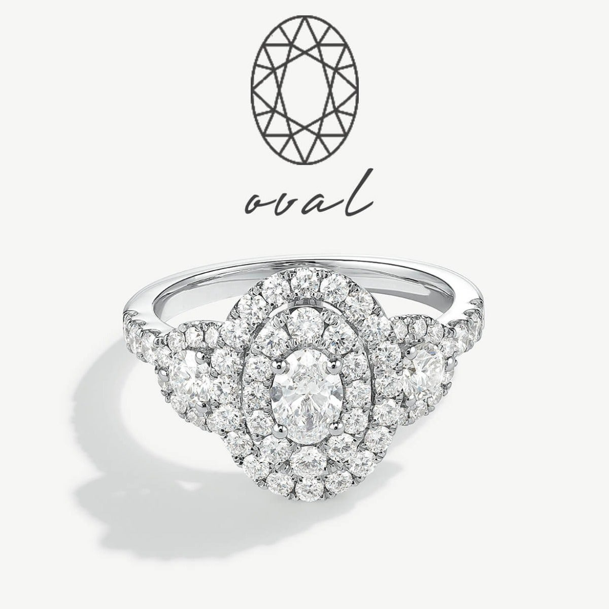 Oval Engagement Styles