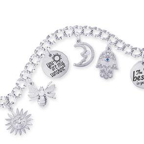 Womens charm bracelets